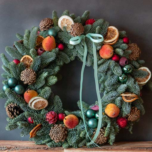 smalland green wreath making workshop